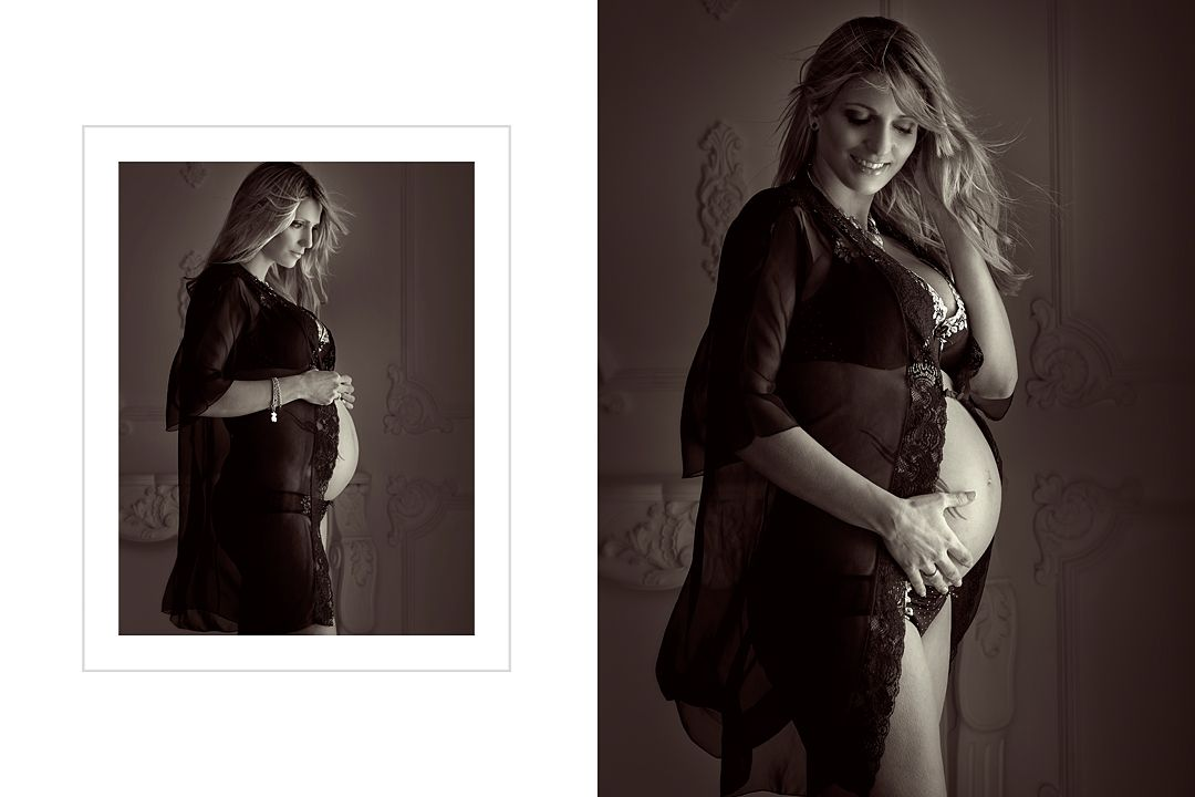Fotos de embarazo tiernas, naturales y originales para embarazadas felices. Fotografías emotivas y naturales de maternidad.