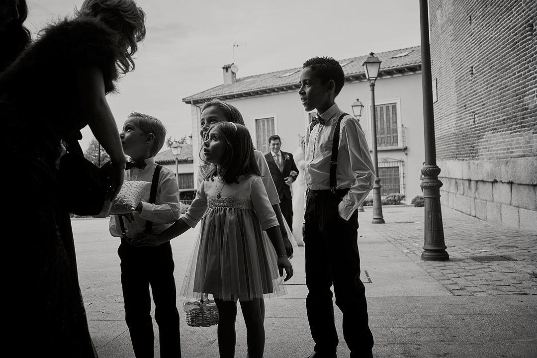 foto llegada novia