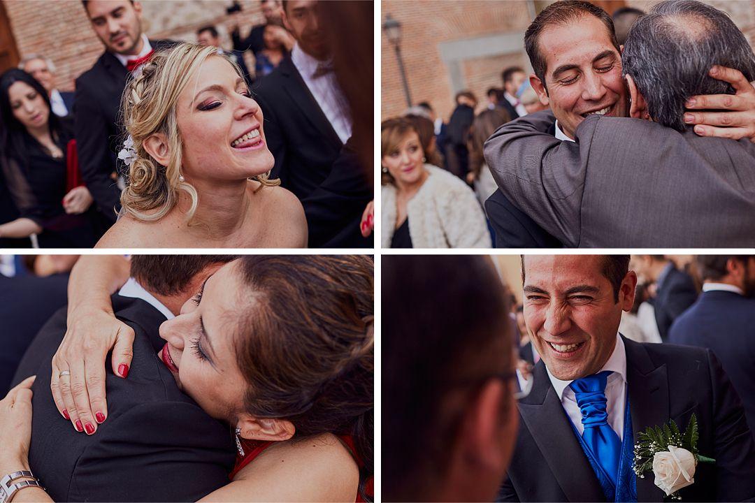 fotografías originales novios invitados