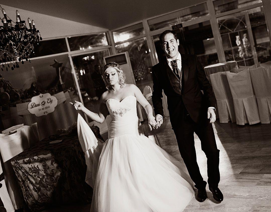 Fotos de boda originales y naturales.