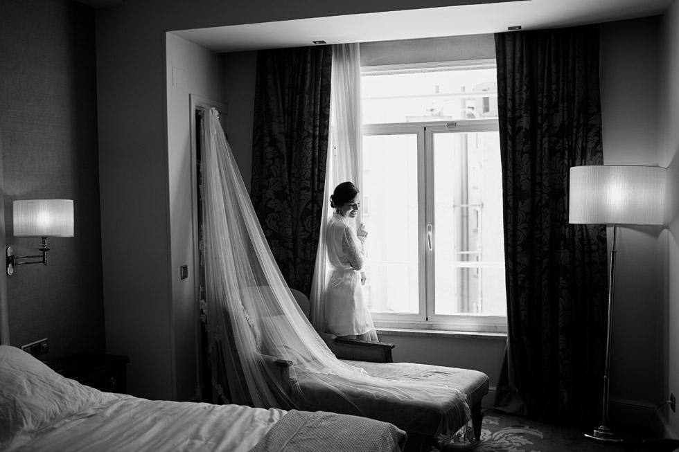 Boda en el Hotel Wellington de Madrid