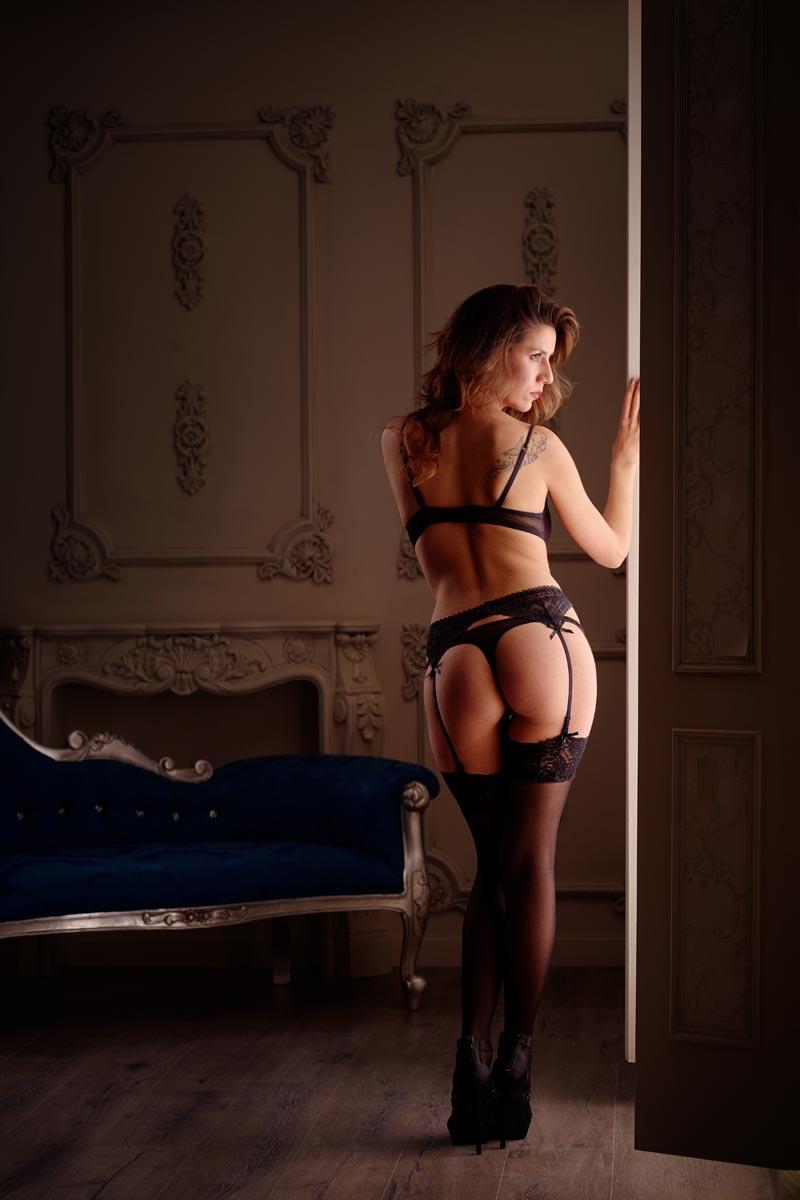 estudio fotografía sensual femenina boudoir Madrid