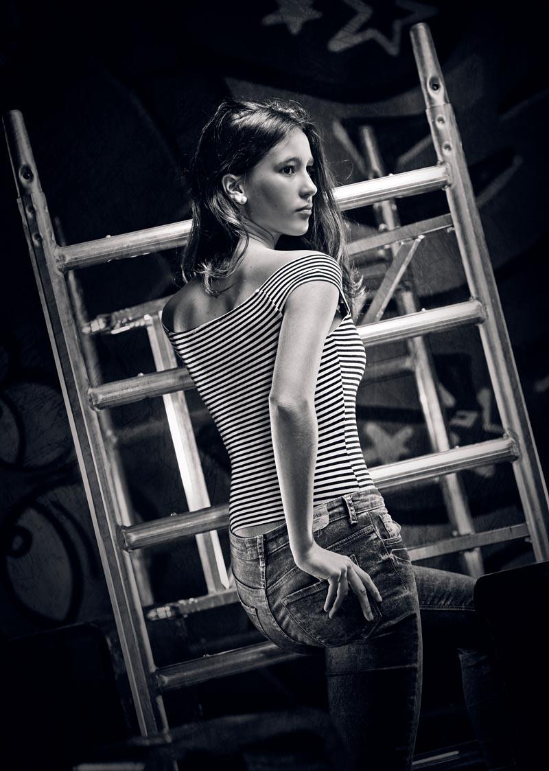 Book de fotos profesional personales para chicas jóvenes en Madrid