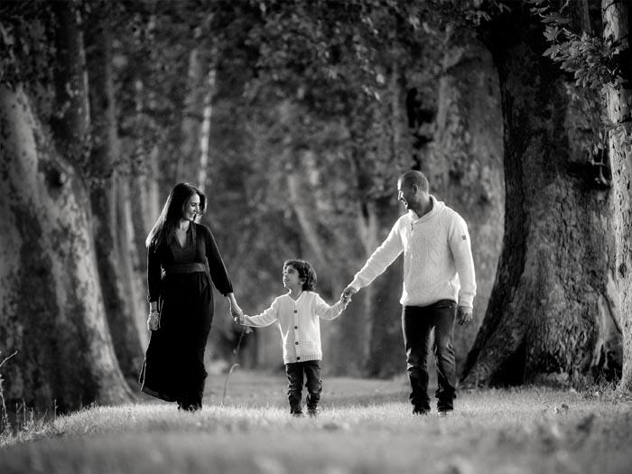 Fotos de familia diferentes en Madrid