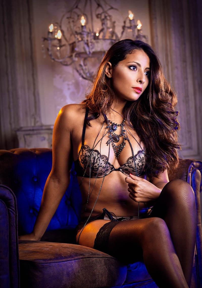 fotos glamour sensuales madrid