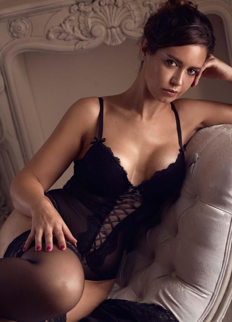 book de fotos boudoir mujer