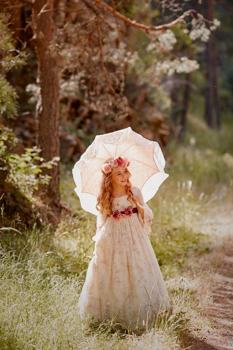 reportaje comunion exteriores madrid romanticas
