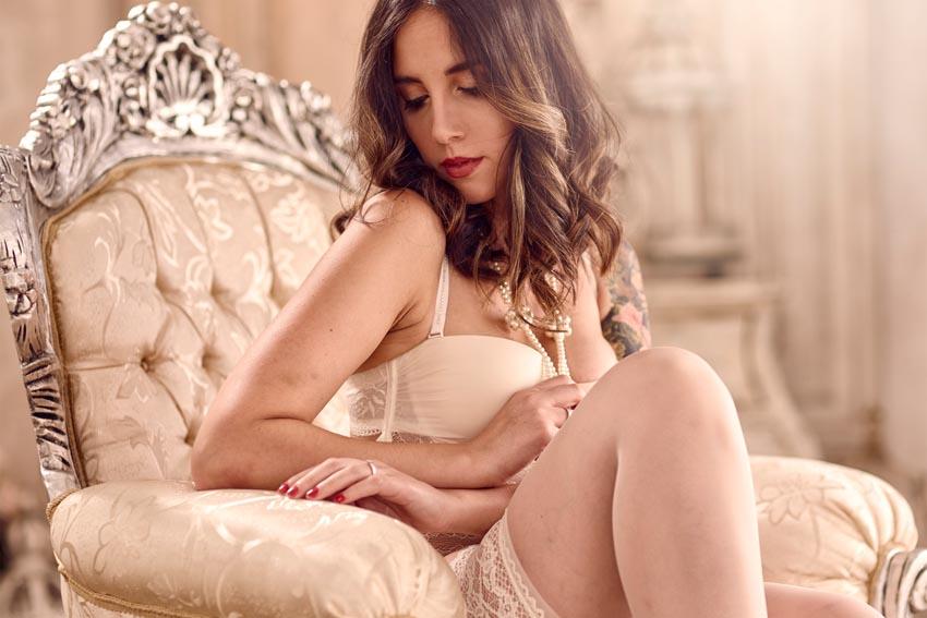 fotografías estilo boudoir profesionales madrid