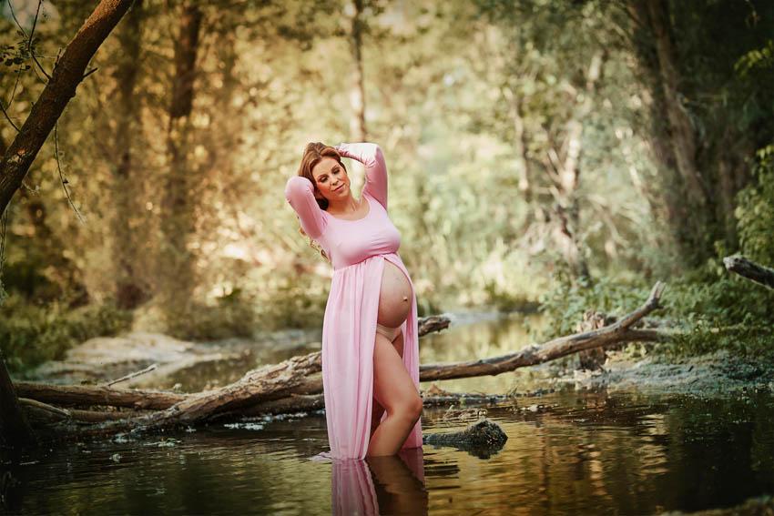 Cuándo y Dónde hacer una bonita sesión de fotos de embarazo